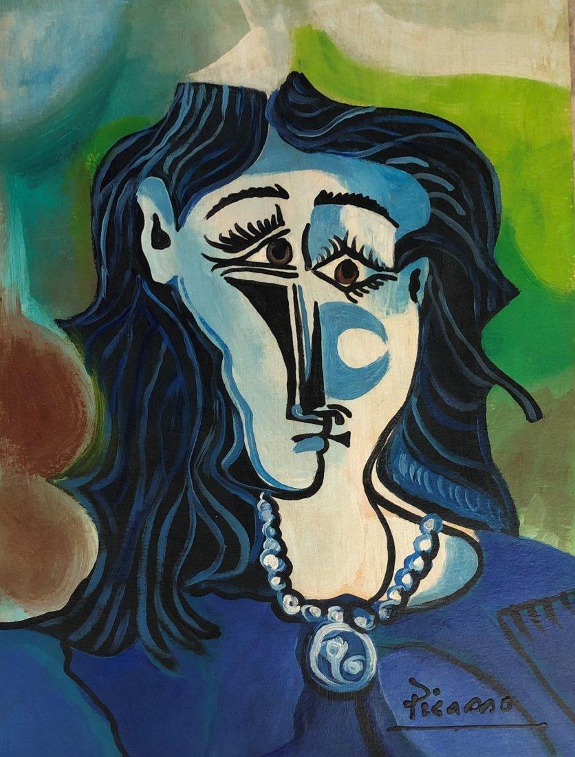 Pablo Picasso Cubism Women Portrait Abstract Spanish - Apr ...