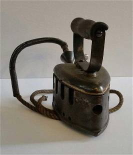 Antique Vintage Very old Electric Iron