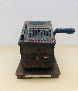 Vintage American Check Writer The Todd Company