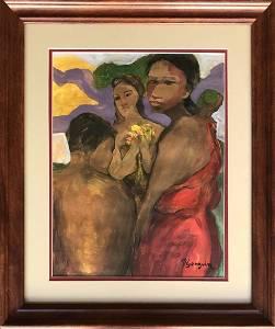 Paul Gauguin French Art (1848-1903) - Oil