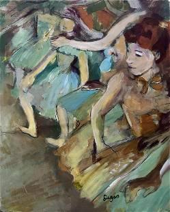 Edgar Degas French Art Ballerina (1834-1917)