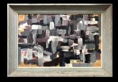 Franz Kline American Abstract Expressionist  Oil
