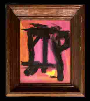 Franz Kline American Abstract Expressionist