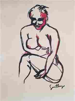 Renato Guttoso Italian Expressionism Style of