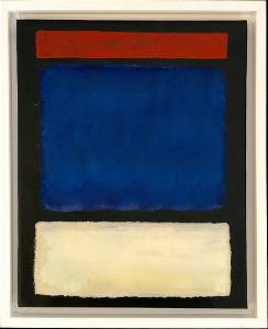 Mark Rothko Oil on Canvas Abstract Russian American