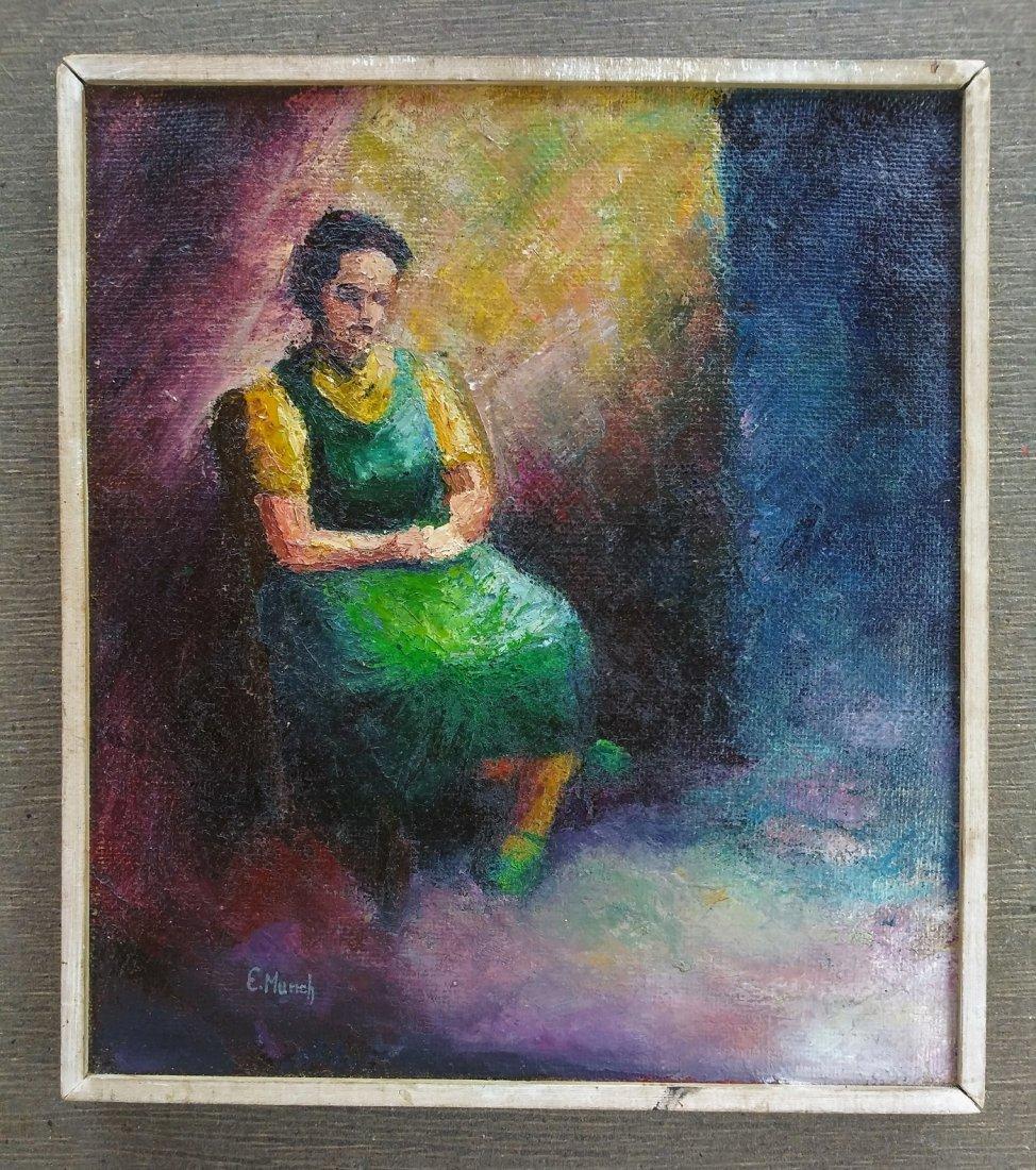 Edvard Munch Expressionism Women Impressionist