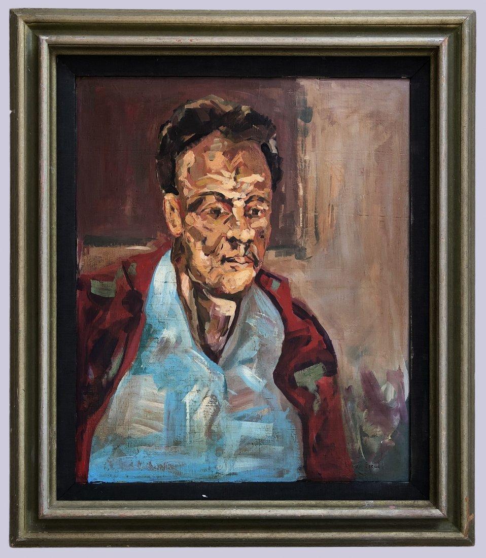 LUCIAN FREUD (BRITISH 1922-2011) Portrait Expressionist