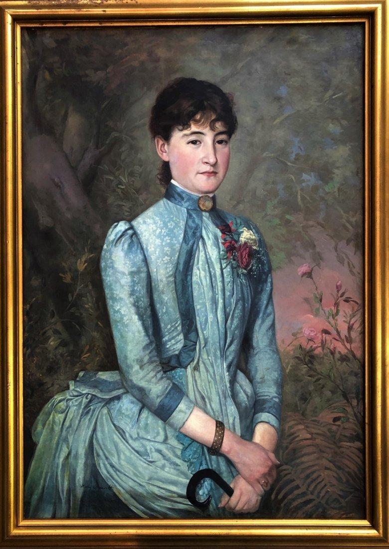 Mary Cassatt Asian Women Portrait lat 18th Canvas Large