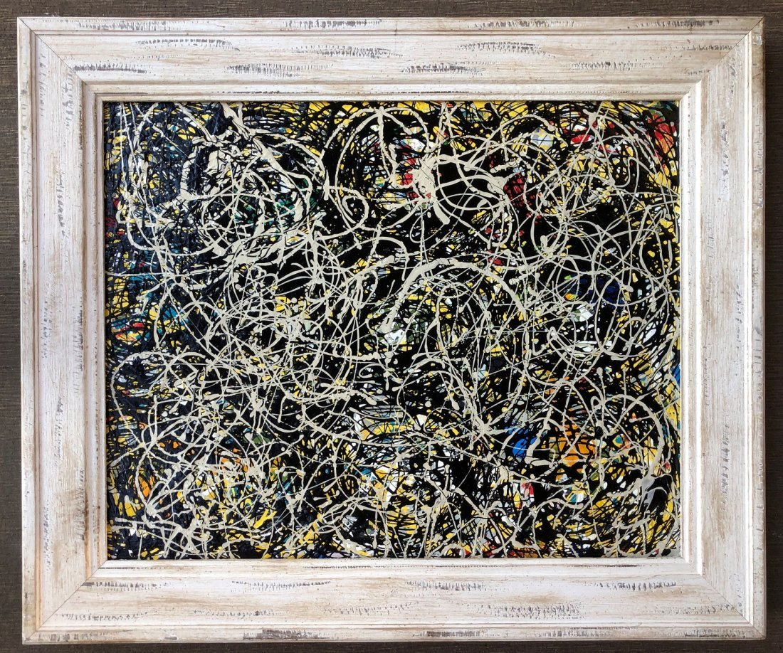 Jackson Pollock Abstract Expressionism oil Canvas