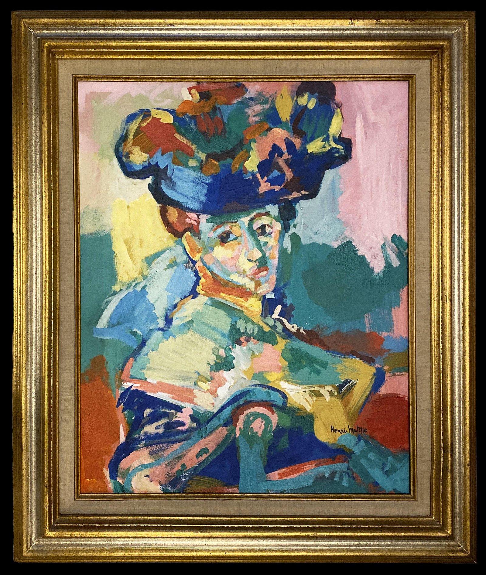 Henri Matisse Women Impressionist French Art Oil