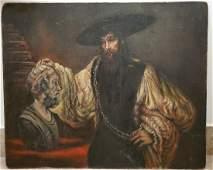 Rembrandt Harmenszoon van Rijn School Portrait Male Man