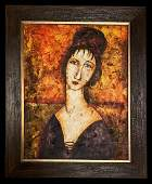 Amedeo Modigliani Expression Woman 18841920