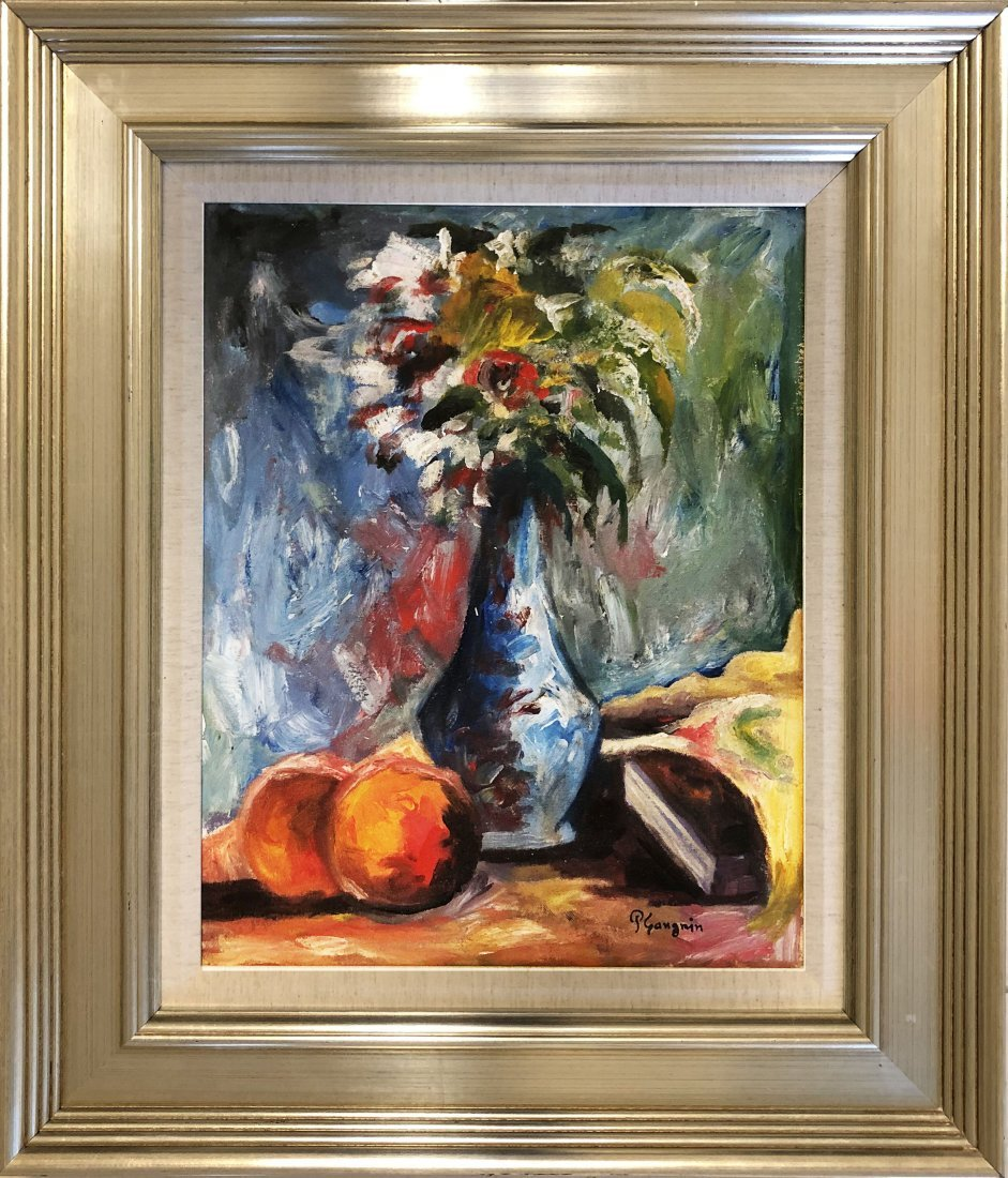 Paul Gauguin French Still Life Impressionist Art