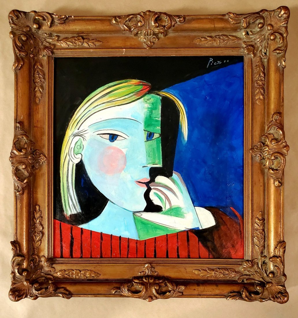 Pablo Picasso Cubist Women abstract Oil Canvas Spanish