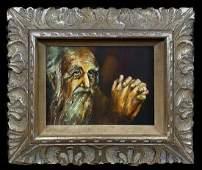 Rembrandt Harmenszoon van Rijn School Portrait Old Man