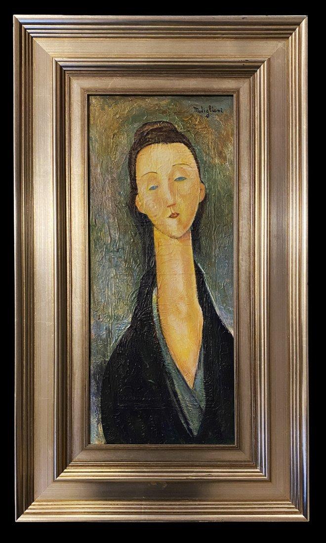 Amedeo Modigliani Portrait Women Italy Oil Canvas