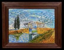 Vincent Van Gogh Landscape Impressionist Oil Canvas
