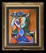 Pablo Picasso Cubist Spanish Painting