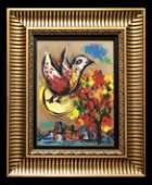 Marc Chagall Figurative Landscape French Russian