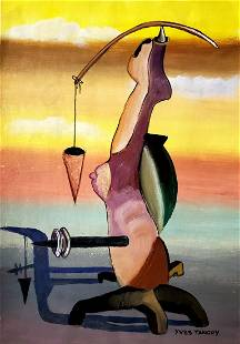 Yves Tanguy Surrealist French Art Landscape Painting