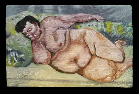LUCIAN FREUD BRITISH 19222011 Expressionist Nude