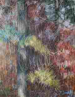 Cy Twombly Flowers Abstract American Expressionist