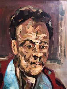 LUCIAN FREUD BRITISH 19222011 Portrait Expressionist