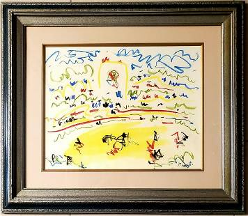 Pablo Picasso Drawing Sketch Landscape Spanish