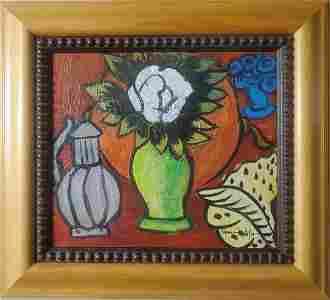 Henri Matisse Still Life Interior French Oil Canvas