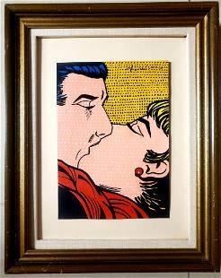 Roy Lichtenstein Women Female Pop Art Couple Love NY