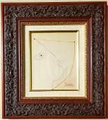 Pablo Picasso Drawing Sketch Portrait Linear Cubist