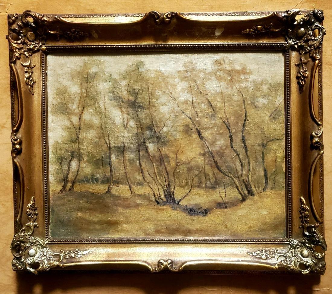 Vincent Van Gogh Landscape Impressionist Dutch Canvas