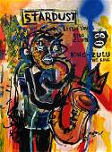 Jean Michel Basquiat Abstract Expressionist New York