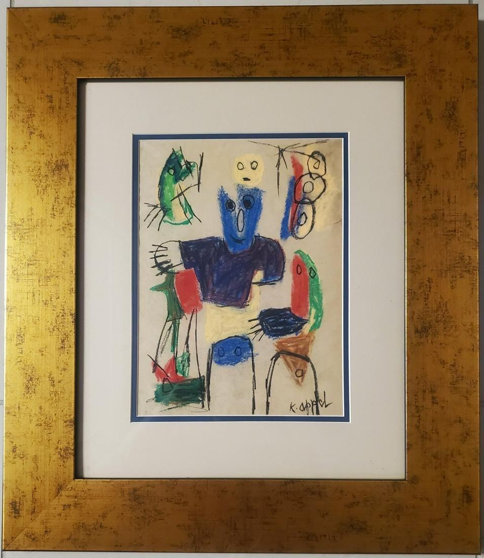 Karel Appel Abstract Figurative Dutch Avant-Garde Art