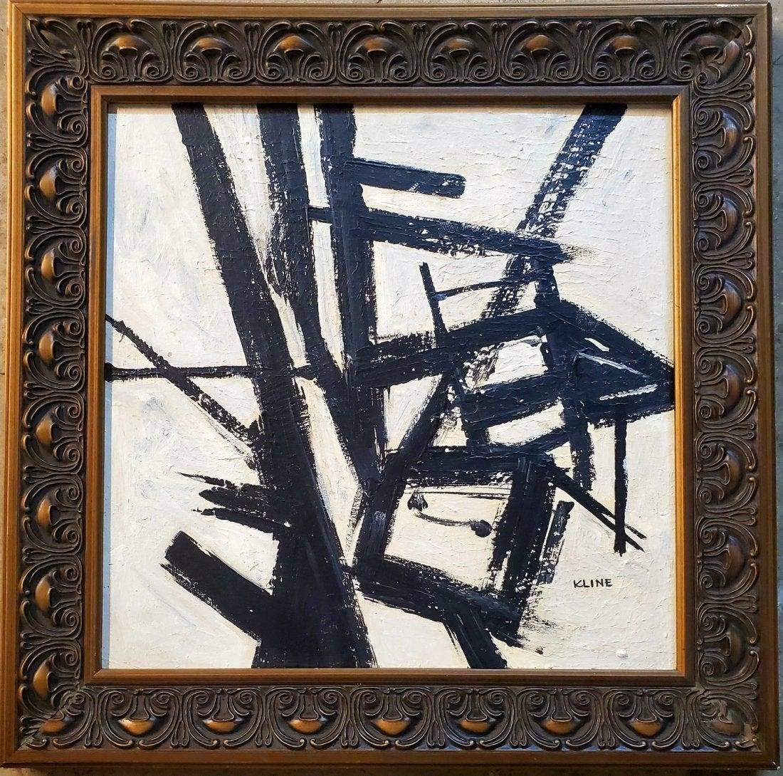 Franz Kline American Abstract Expressionist Modern Art