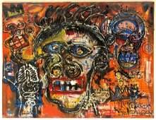 Jean-Michel Basquiat Graffiti Abstract Express LARGE