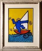 Keith Haring Painting American Pop New York Art