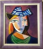 Pablo Picasso Spanish Cubism Potrait Oil Canvas - Style