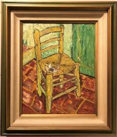 Vincent Van Gogh Dutch Interior Impressionist Canvas