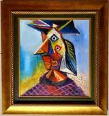 Pablo Picasso Cubism Abstract Women Oil Canvas Spanish