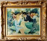 Pierre DUTEURTRE ,Monet Renoir Style French Landscape