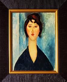 Amadeo Modigliani Women Portrait Female Oil Canvas
