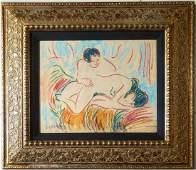 Ernst Ludwig Kirchner German Expressionist Nude Female