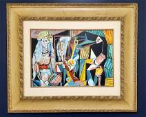 Pablo Picasso Spanish Abstract Cubism Women Female Oil