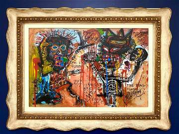 Jean-Michel Basquiat Abstract Expressionist New York
