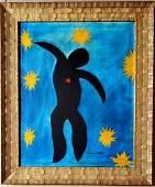 Henri Matisse Female Ballerina Dancer French Oil Canvas