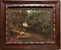 Vincent Van Gogh Oil Canvas Landscape Dutch 19th C.