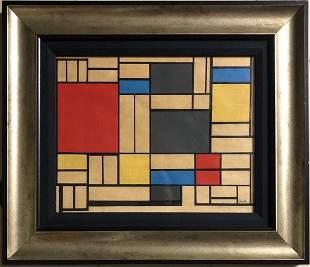 Piet Mondrian PM Dutch American Abstract  Neoplasticism