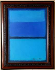 Mark Rothko Abstract Expressionist American Oil Canvas