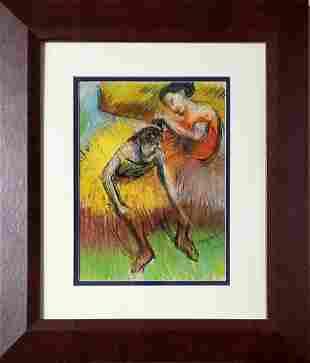 Edgar Degas Impressionist French Ballerina Dancer Women